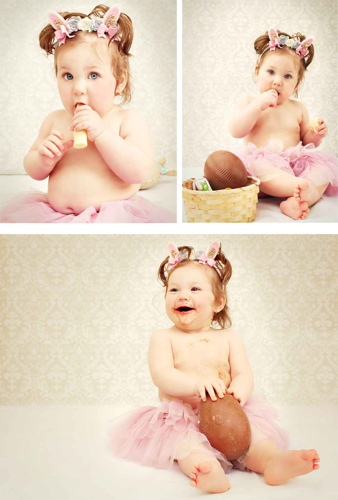 Easter baby photo shoot