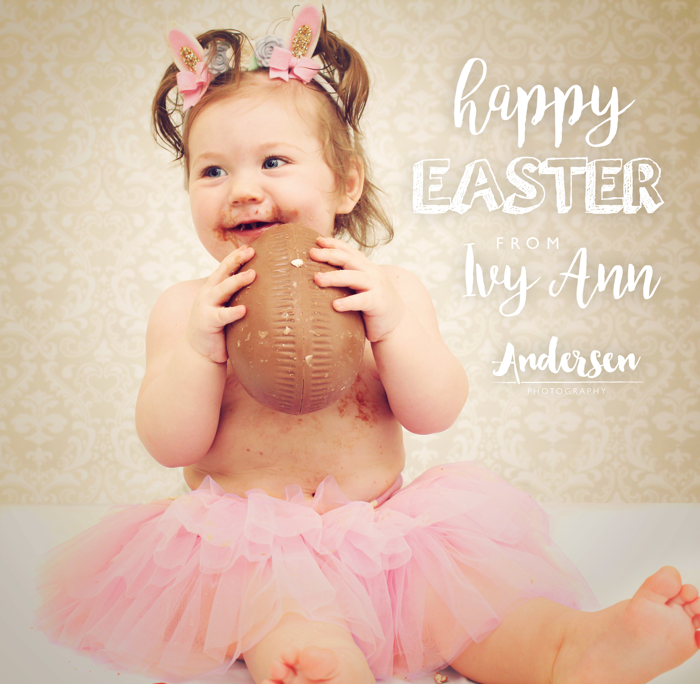 Happy Easter baby Photoshoot
