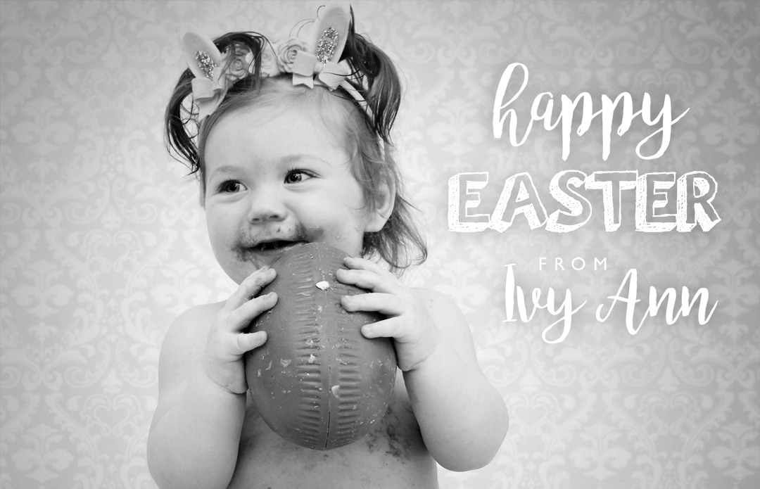 Easter 2016 baby photoshoot