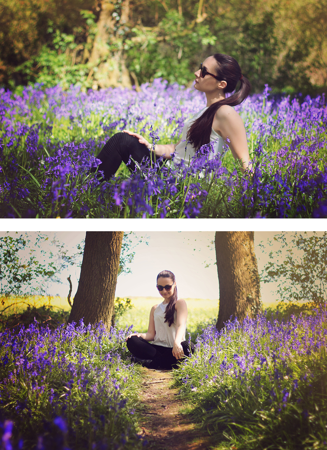 Bluebell photoshoot